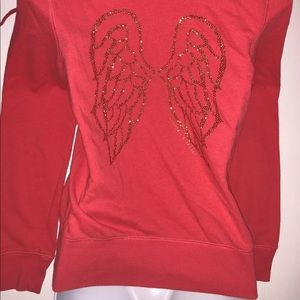 SUPERMODEL Essentials VS ANGEL wings hoodie gold
